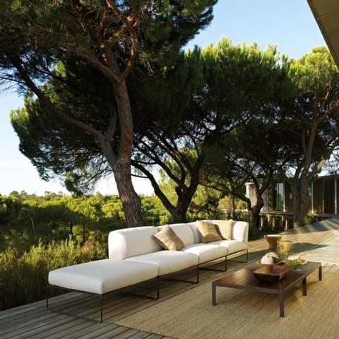 Andreu World - SIESTA Outdoor Sofa outdoors Pinterest