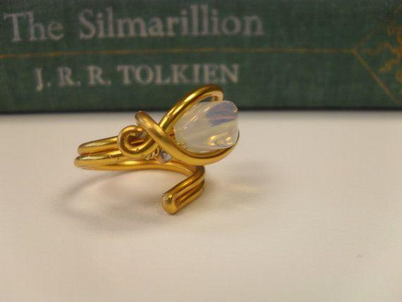 Elvish Ring-Nenya-Ring of Adamant