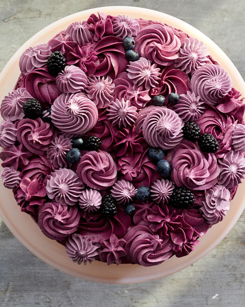 Photo of Berry Layer Cake Recipe