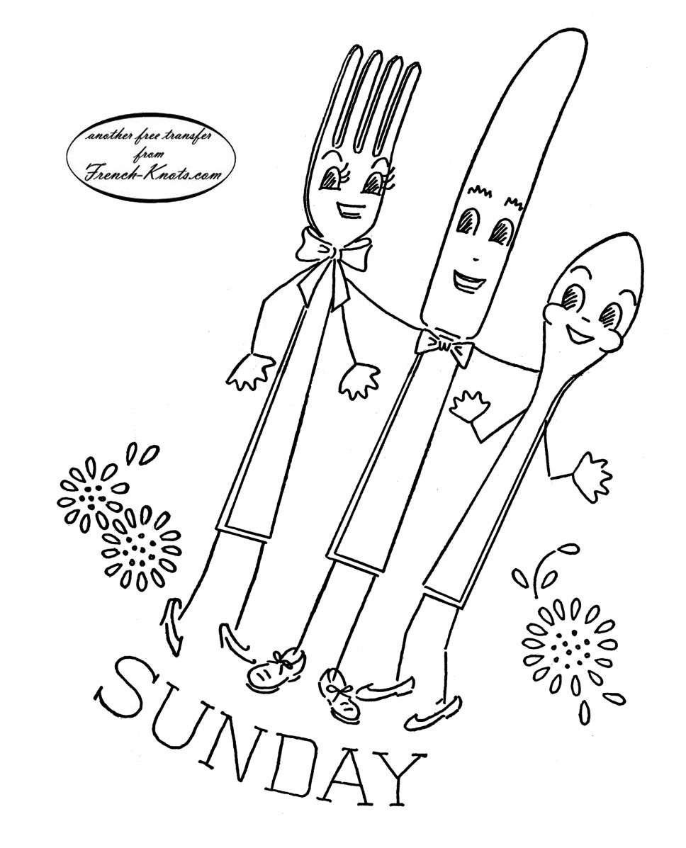 Kitchen Towel Sets Embroidery Patterns | Embroidery ...
