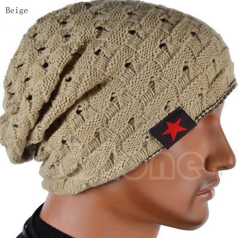 NEW Men Winter Skull Chunky Women Knit Warm Beanie Baggy Hip-hop Cap Unisex Hat