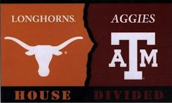 How is your house? Aggies or Longhorns
