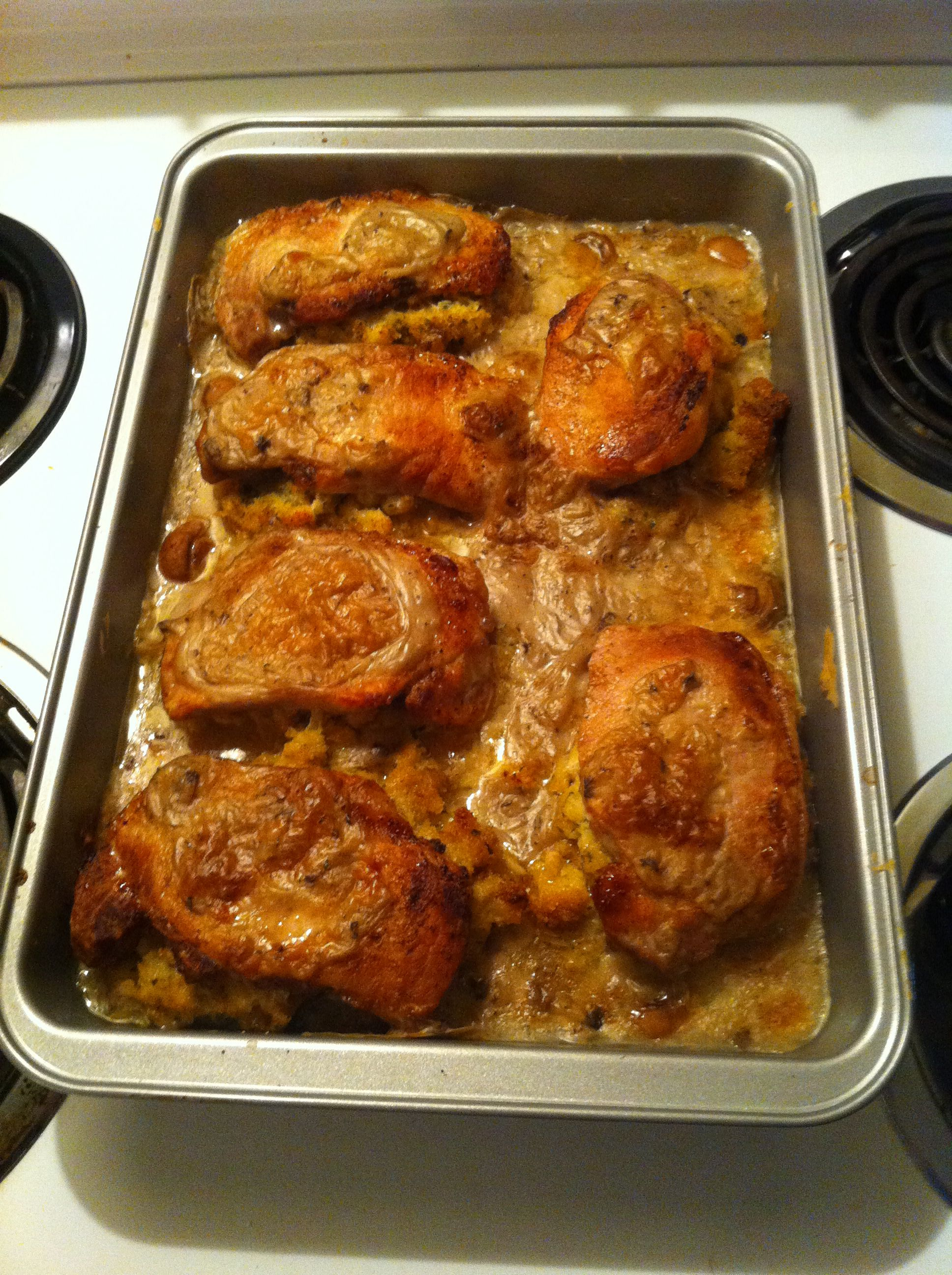 how to make stuffed pork chops in the oven