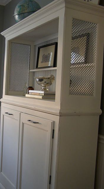 DIY Furniture Diy With Cut Out Sheet Metal Cover Dresser Top For Texture In