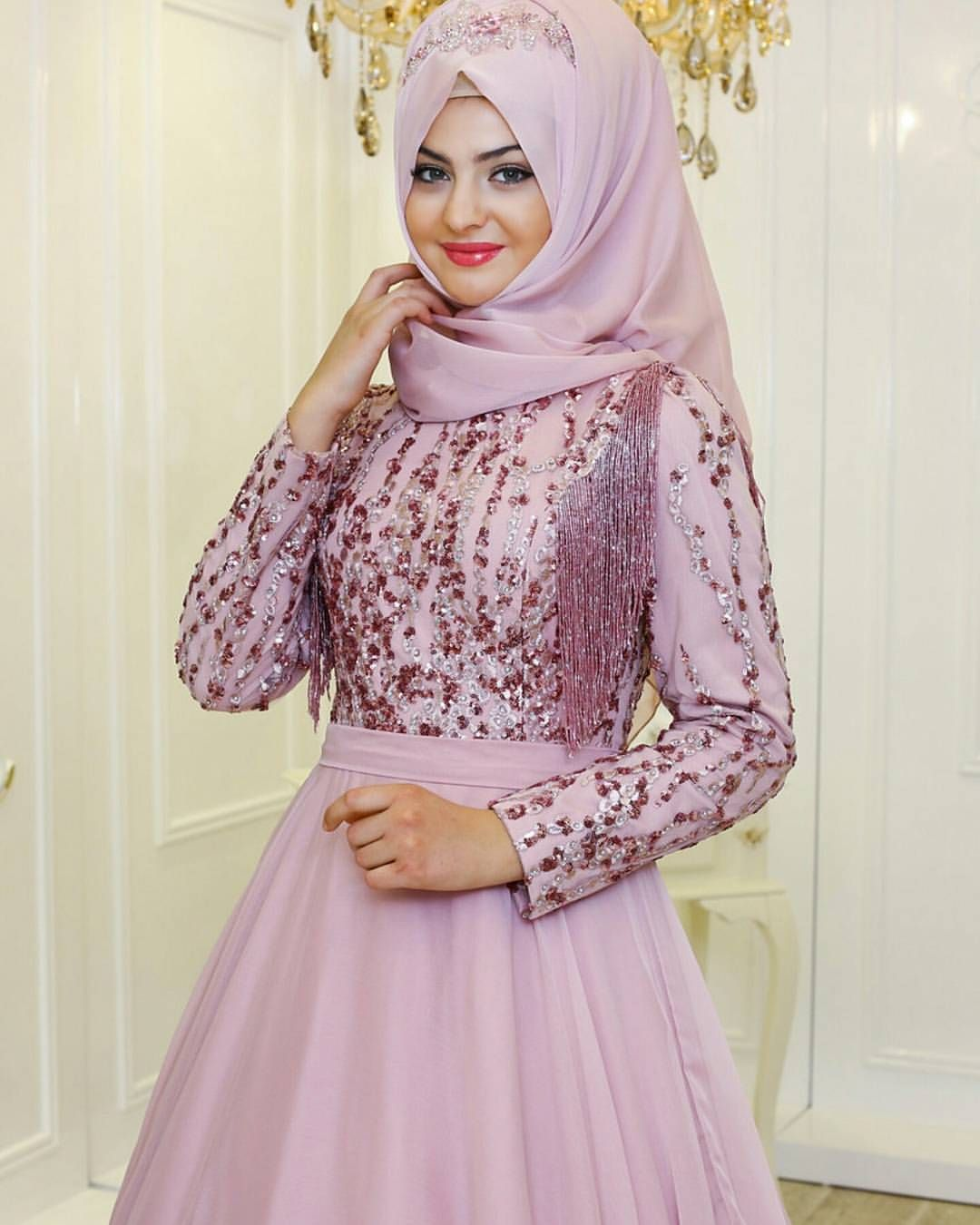 Pin By Tesettur Modelleri On Muslim Women Dresses Fashion Muslim Wedding Dresses