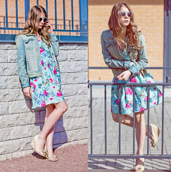 Love and Denim Jacket (by Anna Vershinina) #lookbook