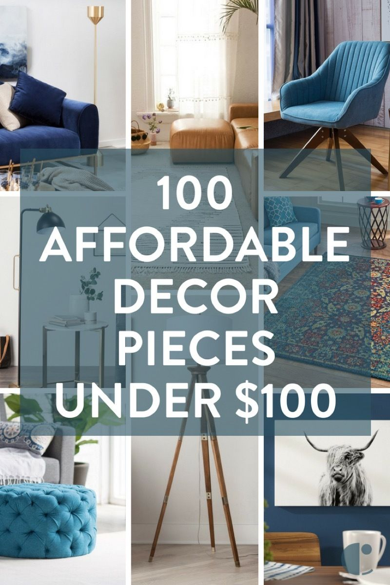 100 affordable furniture and home decor items