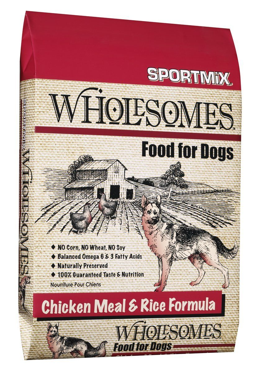 Sportmix Wholesome Chicken Meal And Rice Formula Dry Dog Food