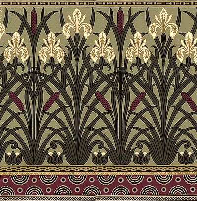 The Art Nouveau Blog: Art Nouveau Wallpaper