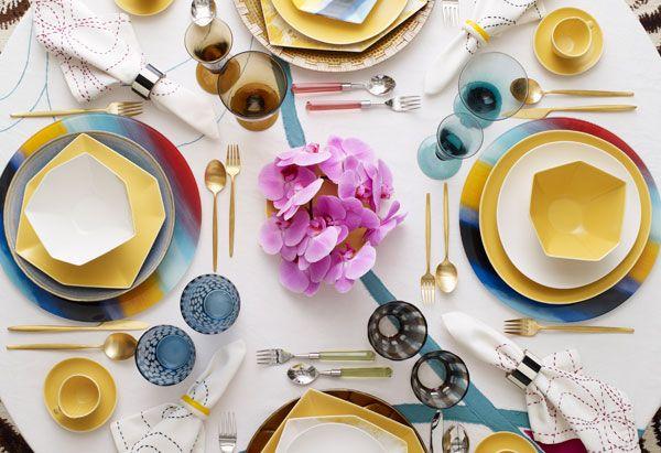 Decorating Ideas From Diane Von Furstenberg Beautiful Table