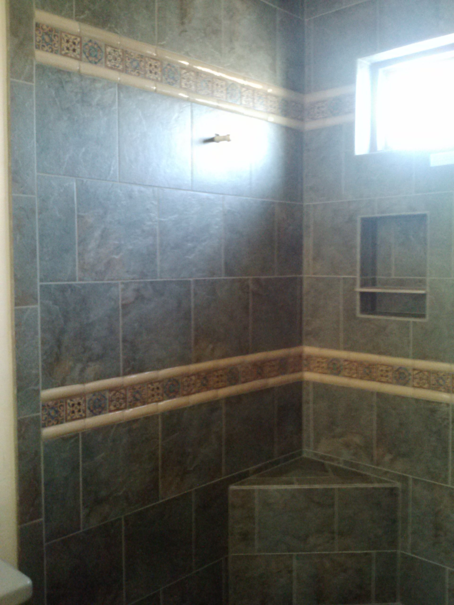 master shower surround emser bombay salsette tile with mexican