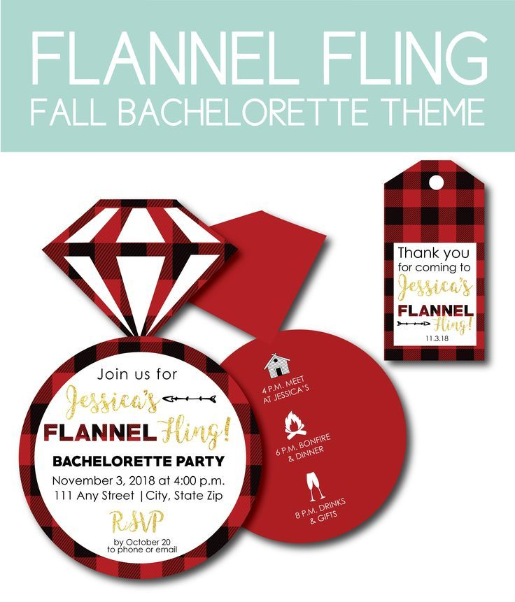 10 Fall Bachelorette Party Themes Perfect for Celebrating the Bride-to-Be   - Great Invitation Ideas -