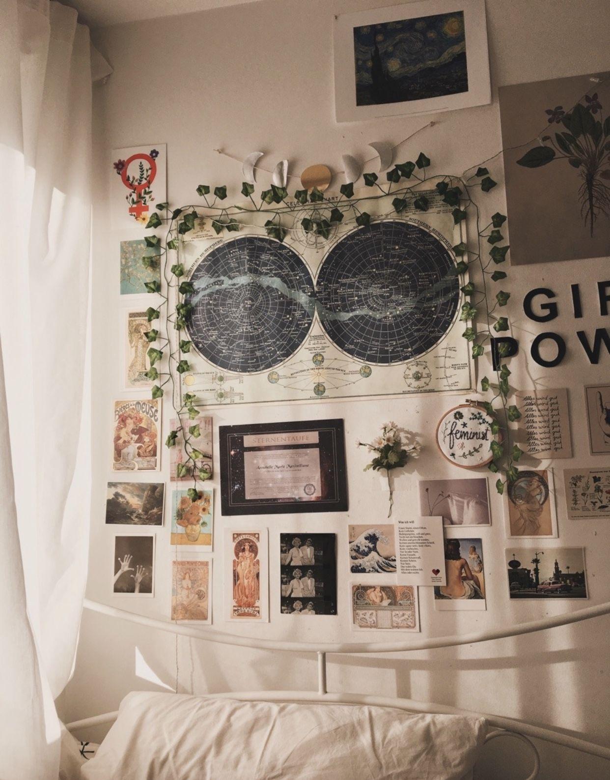 Épinglé par Andrea Besé sur Эстетика  Déco chambre vintage, Idée