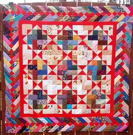 Nine Patch Split Quilting Projects Quilt Border Quilts