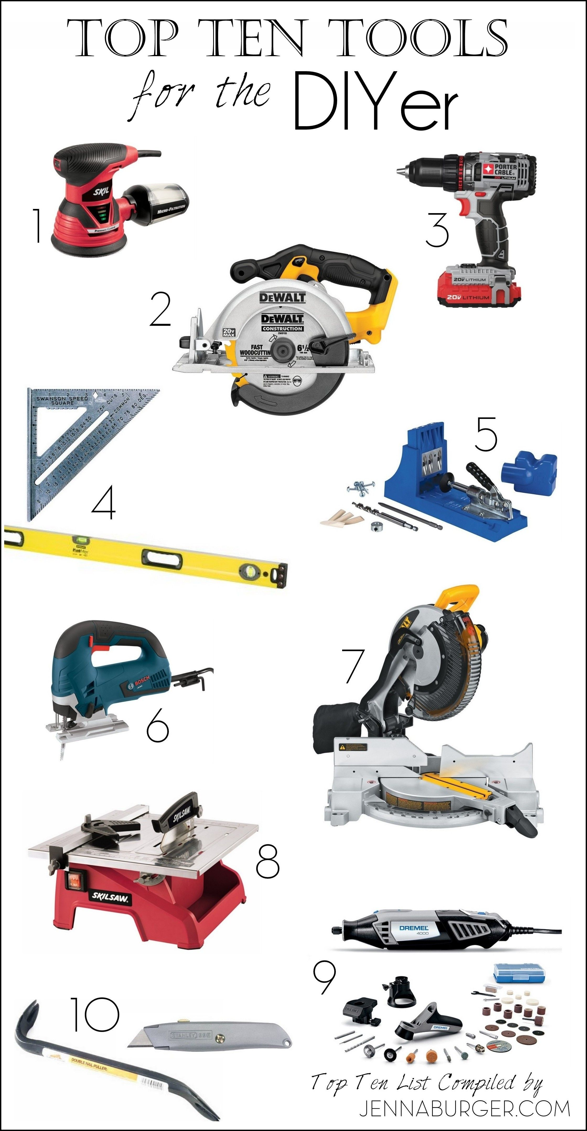 Gift Guide For Do It Yourselfers 10 Must Have Tools For Any Diyer