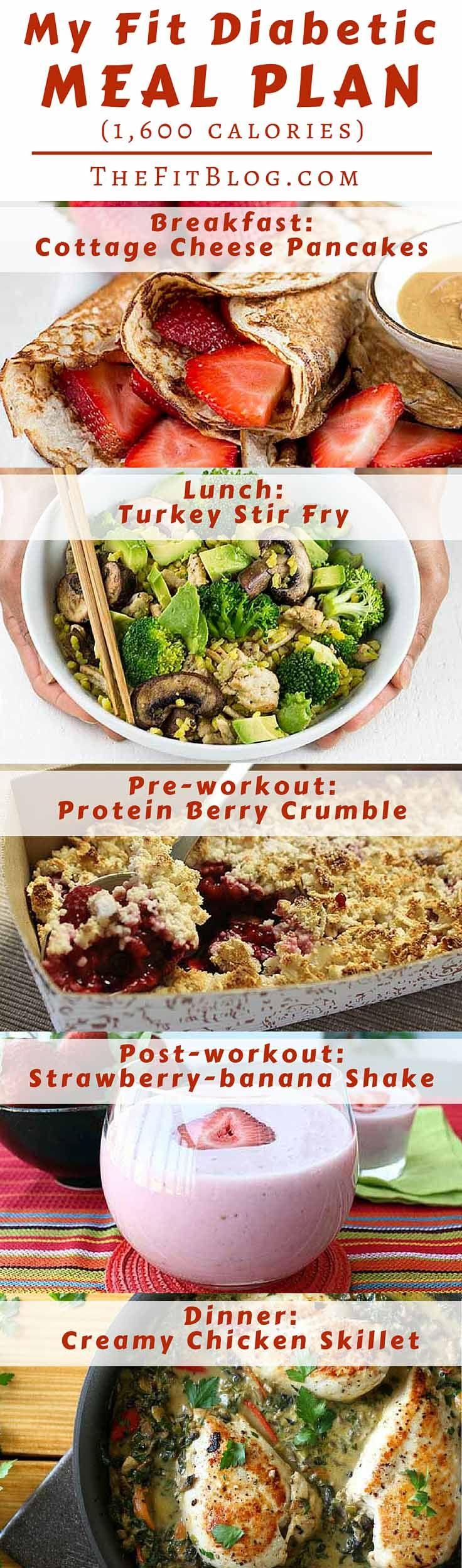 diabetic meal plan example | diets | pinterest | diabetic recipes