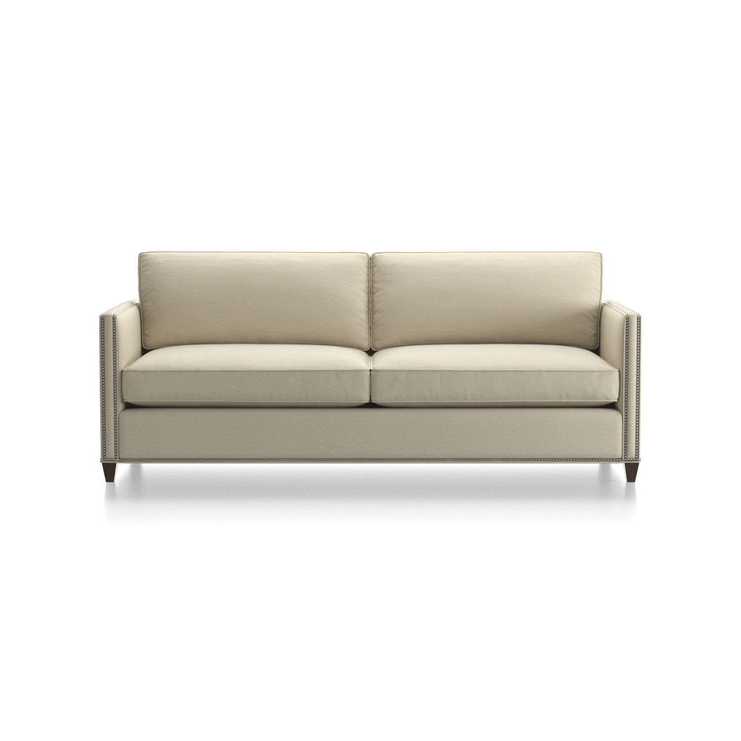 Leather Sleeper Sofa With Nailheads Twilight Dryden Queen Wishlist Pinterest Shop Comfy And Stylish This Is Outfitted A Bi Fold Innerspring Mattress Tilt Up