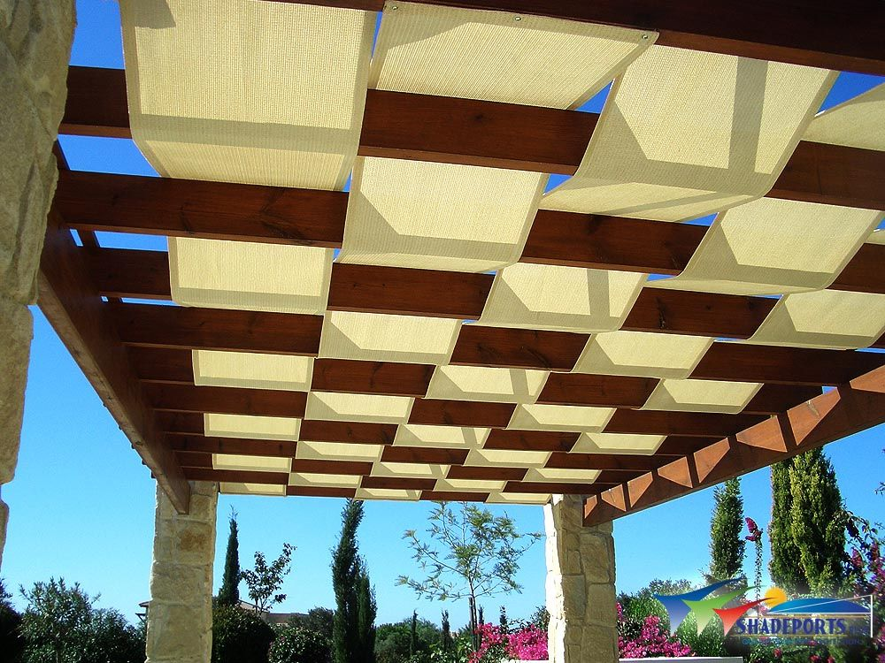 Waterproof Fabric Pergola Cover Pergola With Roof Covered