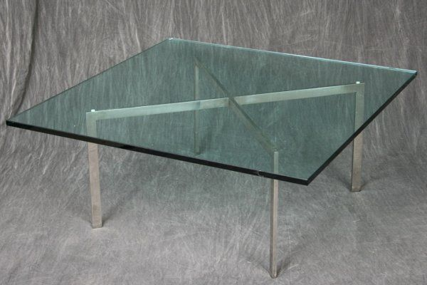 Knoll Barcelona Coffee Table Barcelona Table Was Designed In 1930 By Ludwig  Mies Van Der Rohe