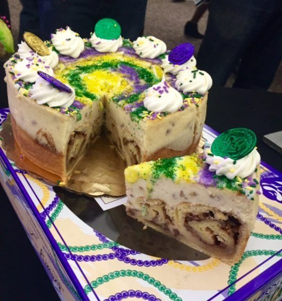Broad Street Bakery Queen Cake cheesecake Mardi Gras and ALL