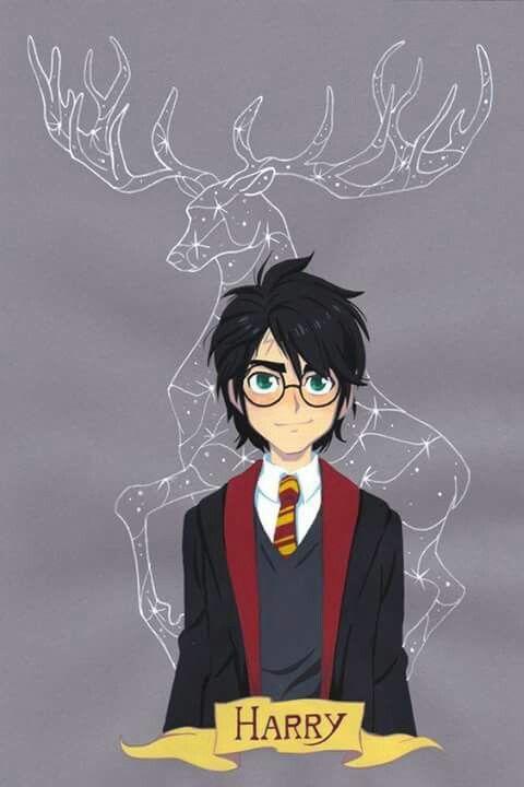 Fan Art Harry Potter Dibujos Desenhos Harry Potter Personagens