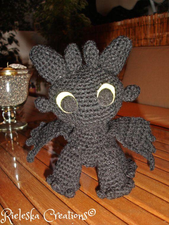 Night Fury Crochet Pattern Choice Image - knitting patterns free ...