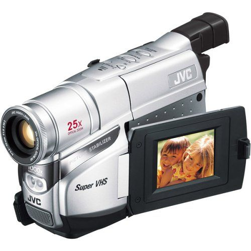 Jvc Gr Sxm37u Compact S Vhs Camcorder W 25x Optical Zoom Video Camera Camera Photo Film Camera