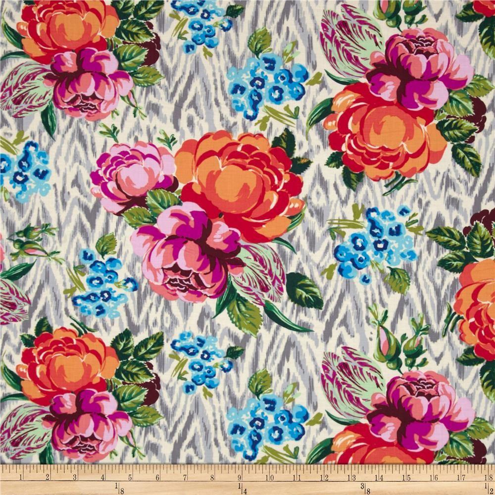Amy Butler Hapi Tapestry Rose Linen Design Inspiration Pinterest