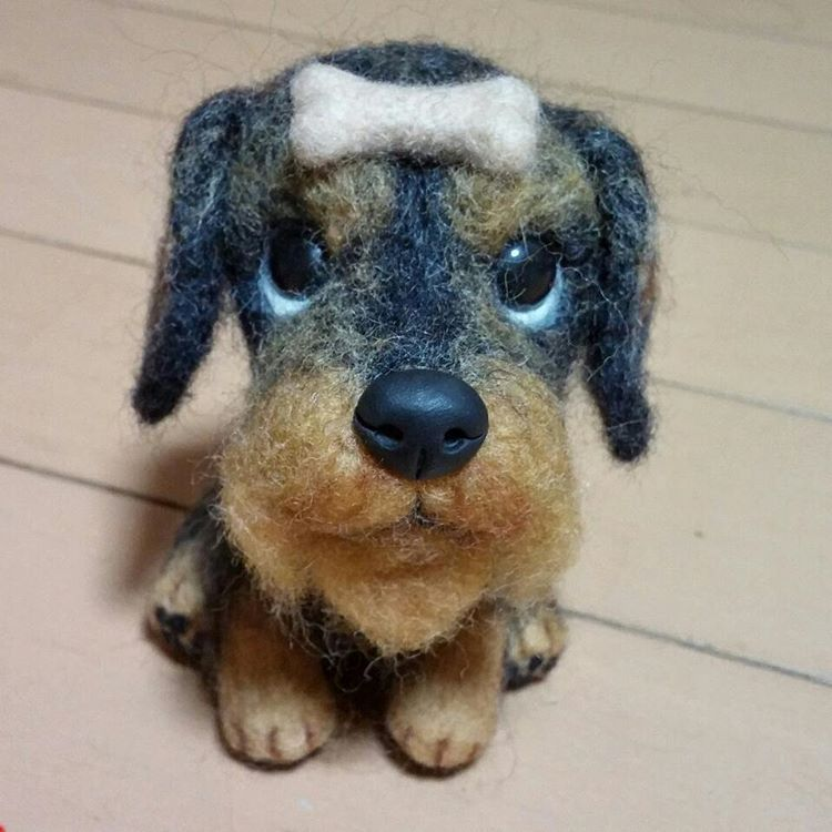 2016 7 8 Wonder Zoo Needle Felted Wool Animals Projects