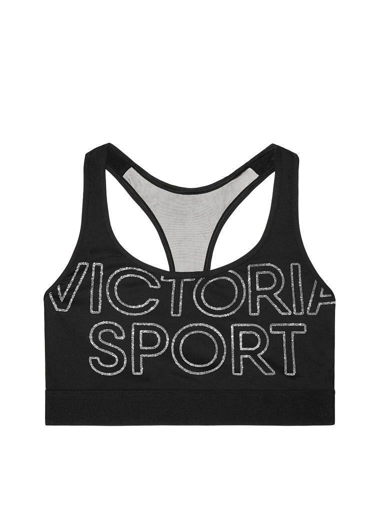 c79a9ce5064dd Victoria s Secret The Player by Victoria Sport Mesh Racerback Sport Bra -  Black