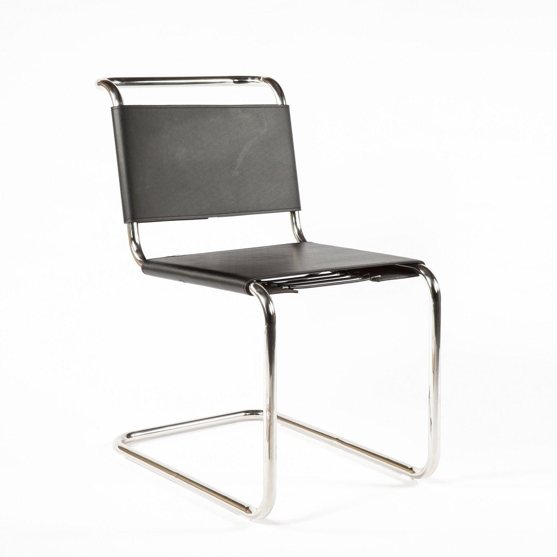 Marcel Breuer B33 Side Chair Replica Bauhaus Mid Century Dining