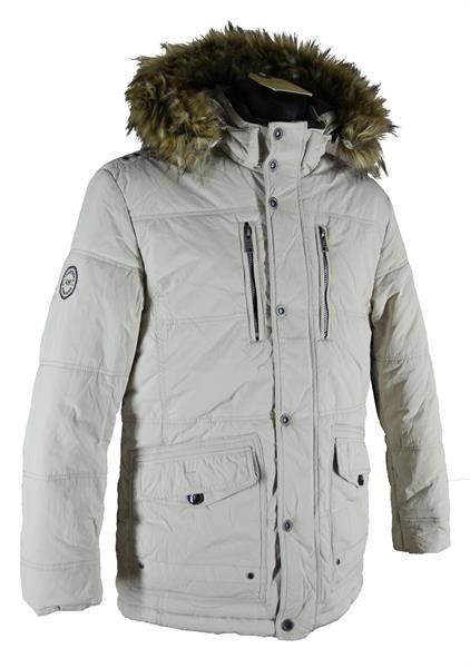 Куртка аляска мужская белая