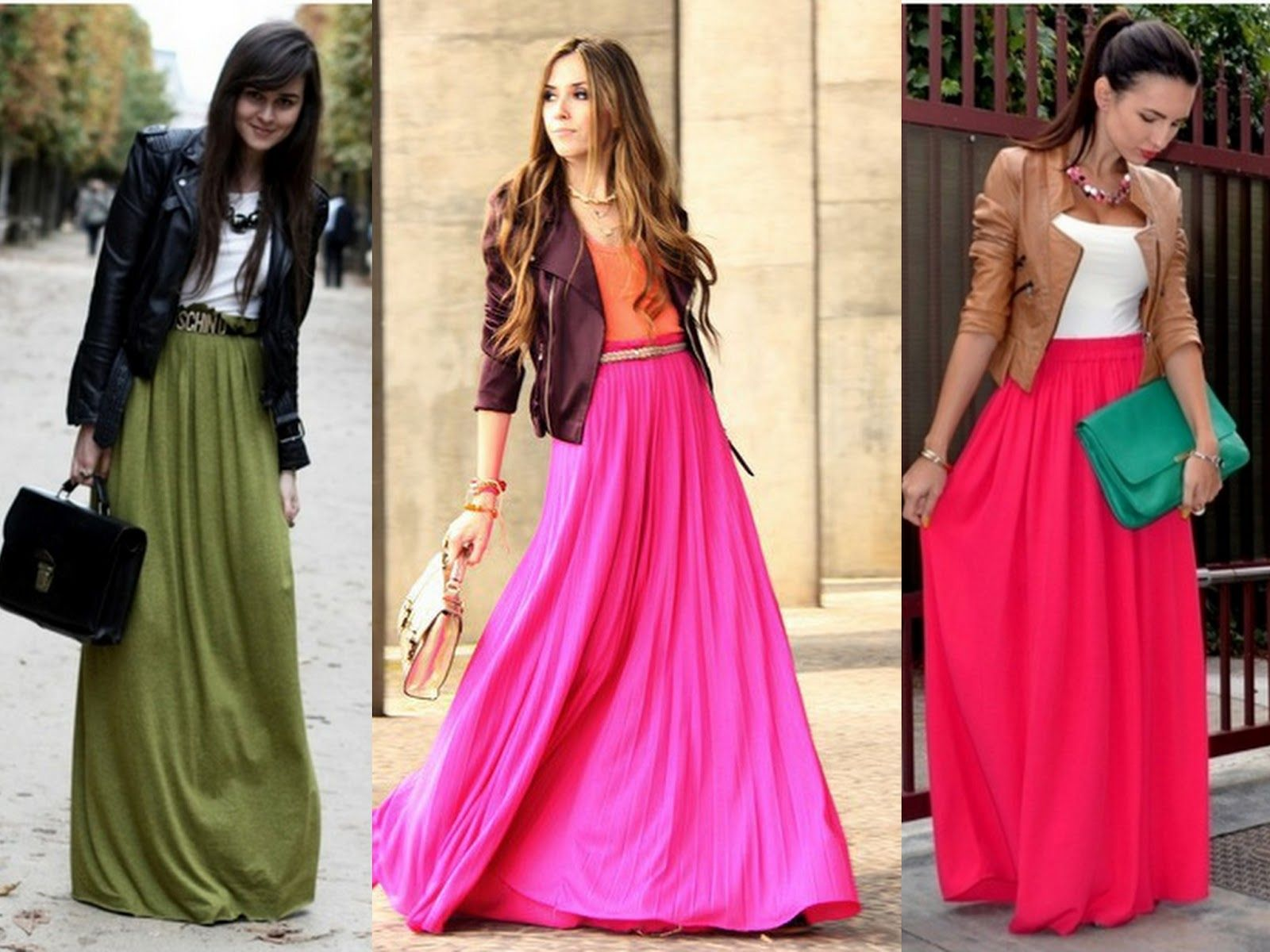 17 Best images about Awesome Maxi Skirt Outfits Designs on ...
