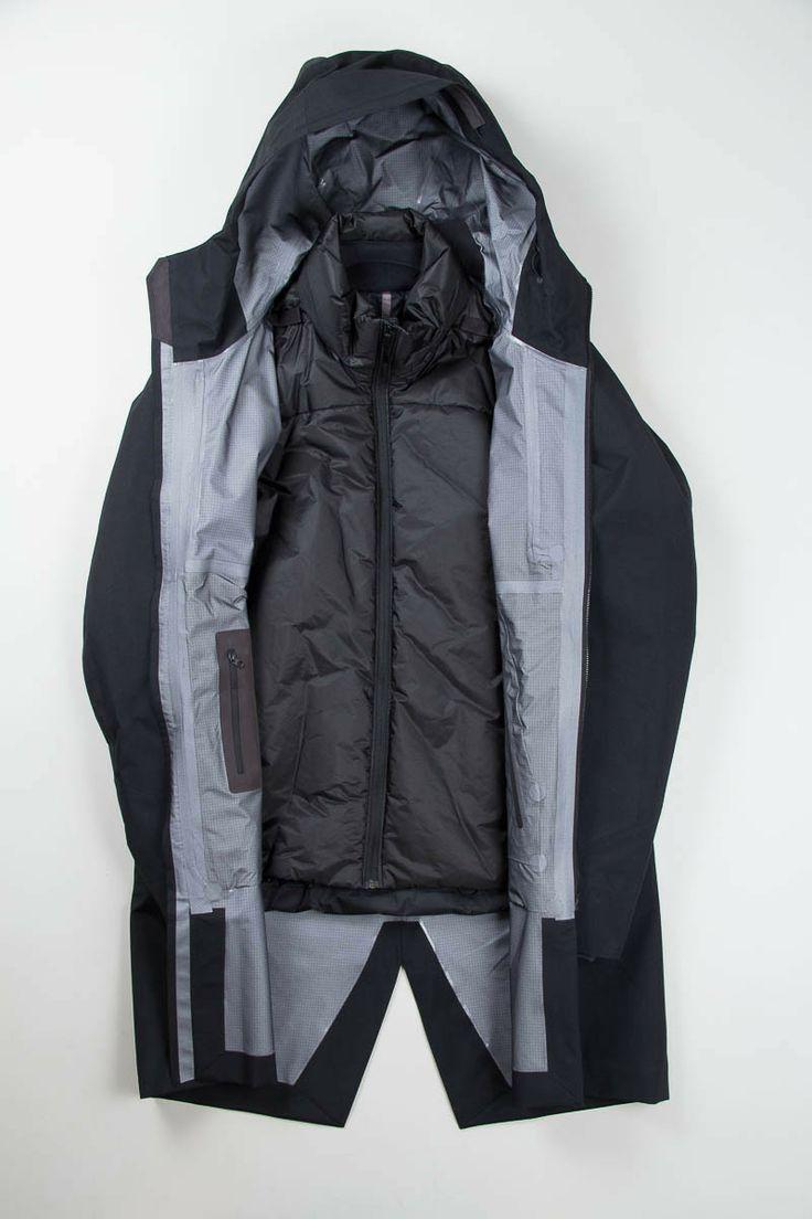 "jedem-das-seine  "" ARC TERYX VEILANCE PATROL IS COAT ""   Techwear ... 8dc62dc63d4"
