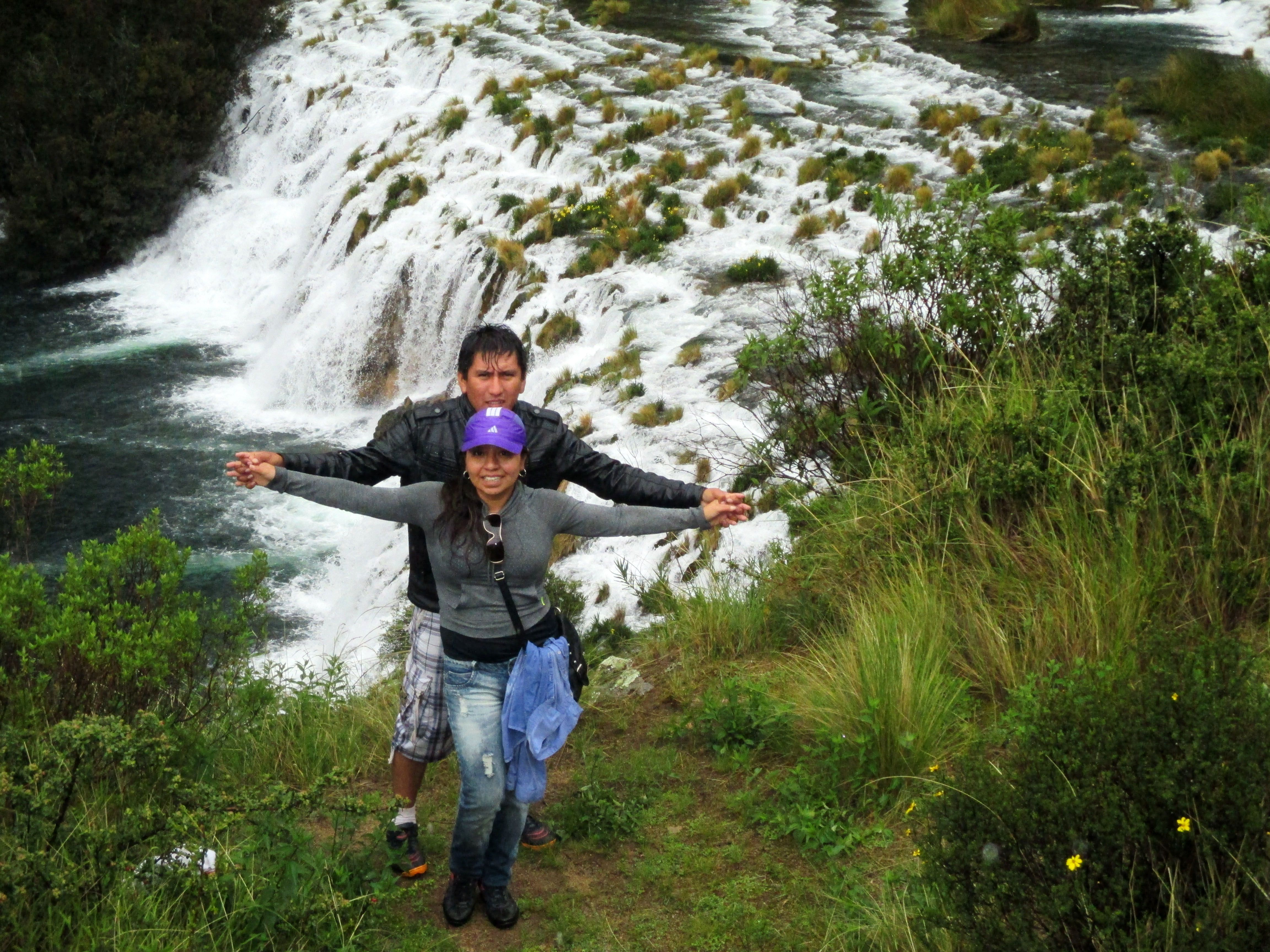 Caminata turismo de aventura