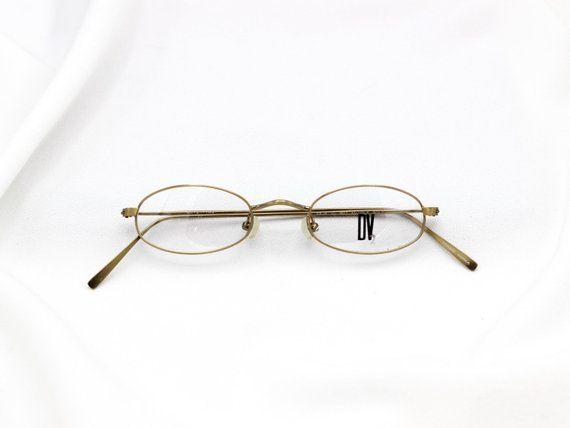 ff03196738b Vintage Oval 90 s Prescription Glasses