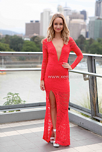 Red 'Lost In Love' Maxi Dress