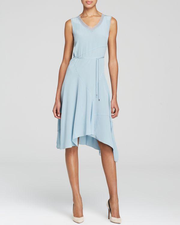 Elie Tahari Savina Silk Crepe Dress - Bloomingdale's Exclusive