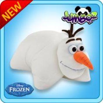 Jumbo Olaf Pillow Pet 30 Inch Jumbo Folding Plush Olaf Pillow Animal Pillows Plush Pillows Pillows
