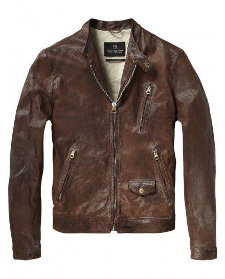 713a86997 Biker jacket - Jackets - Scotch   Soda Online Shop