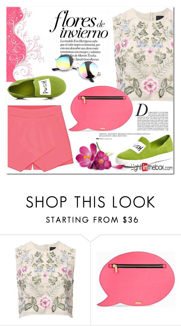 """Lightinthebox.com"" by nerma10 ❤ liked on Polyvore featuring Needle & Thread, Anja and Skinnydip"