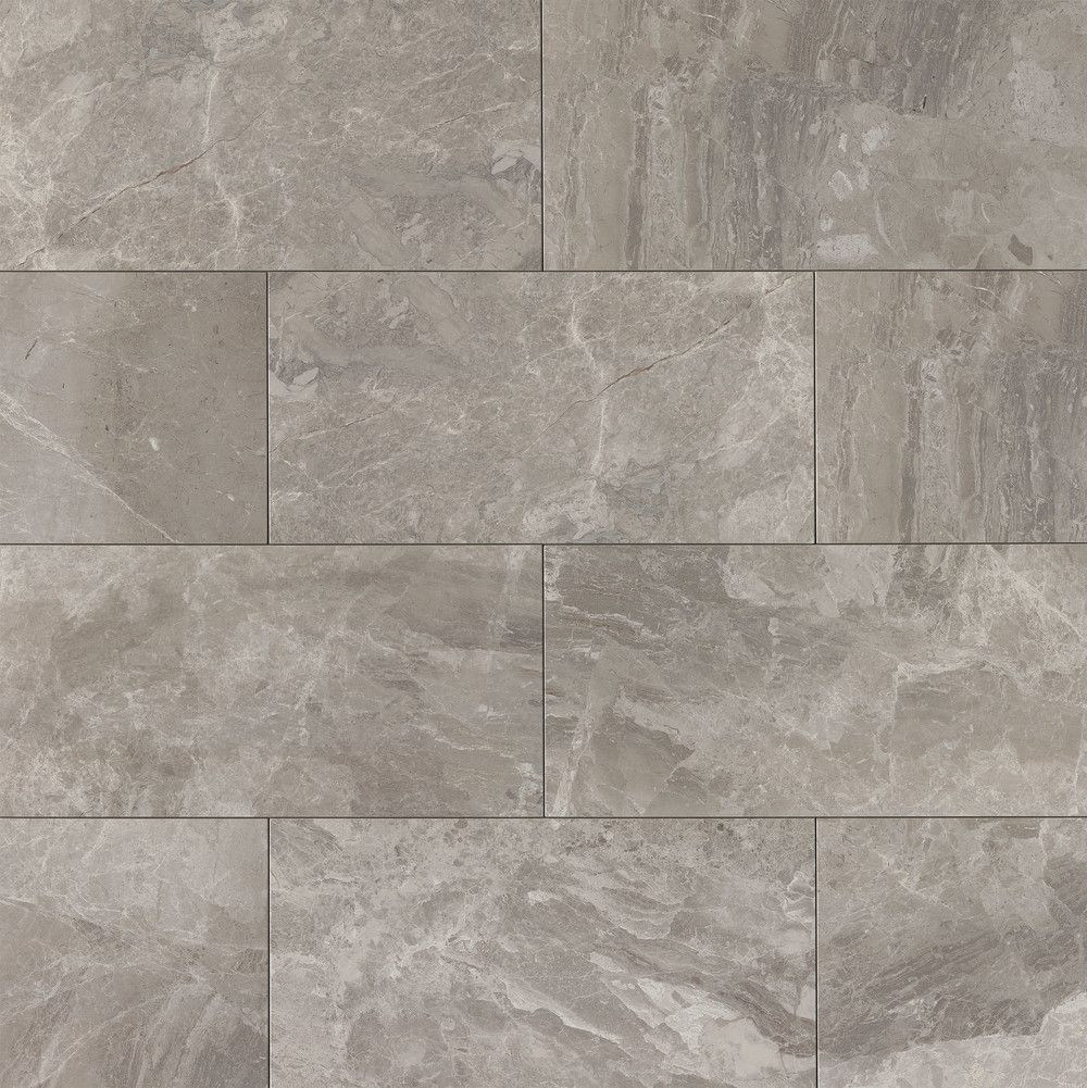 Classic 12 Quot X 24 Quot Floor Amp Wall Tile In Bardiglietto In
