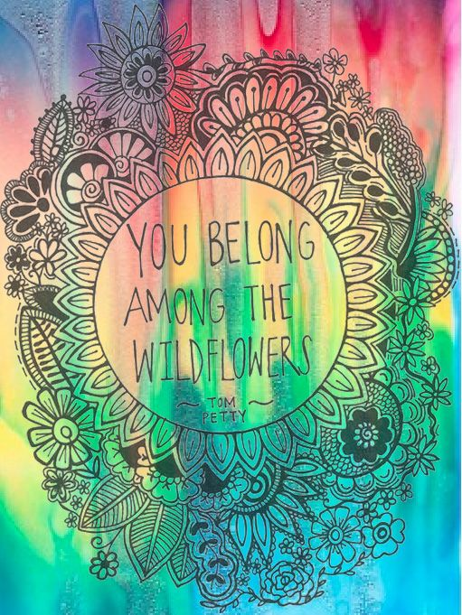 American Hippie ☮ You belong among the wildflowers ...