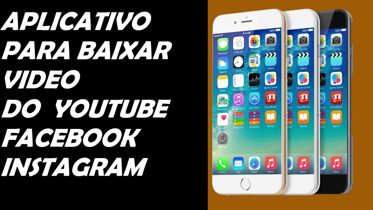 Como Baixar Videos Do Youtube Facebook E Instagram Download