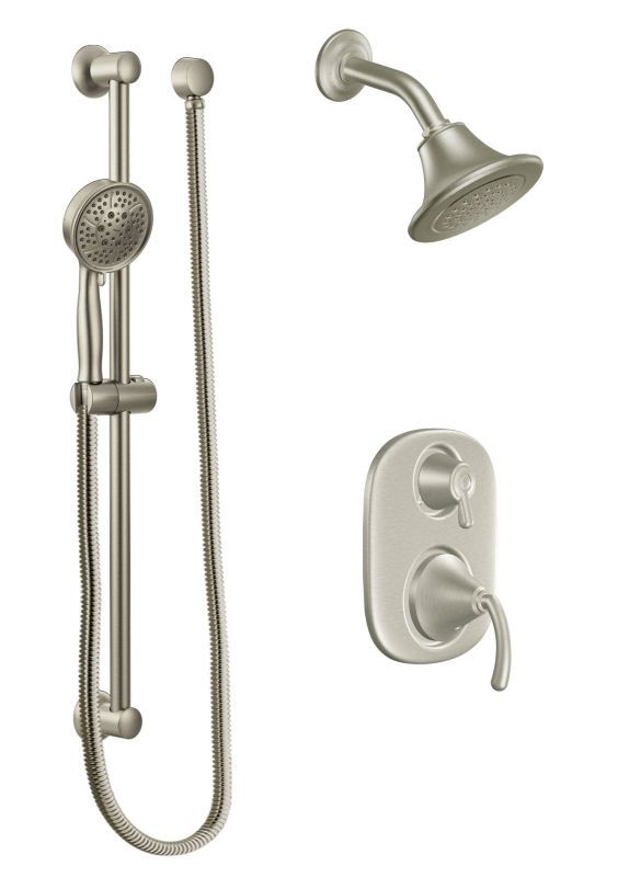 Moen 600sep Pressure Balanced Shower System With 1 75 Gpm Shower
