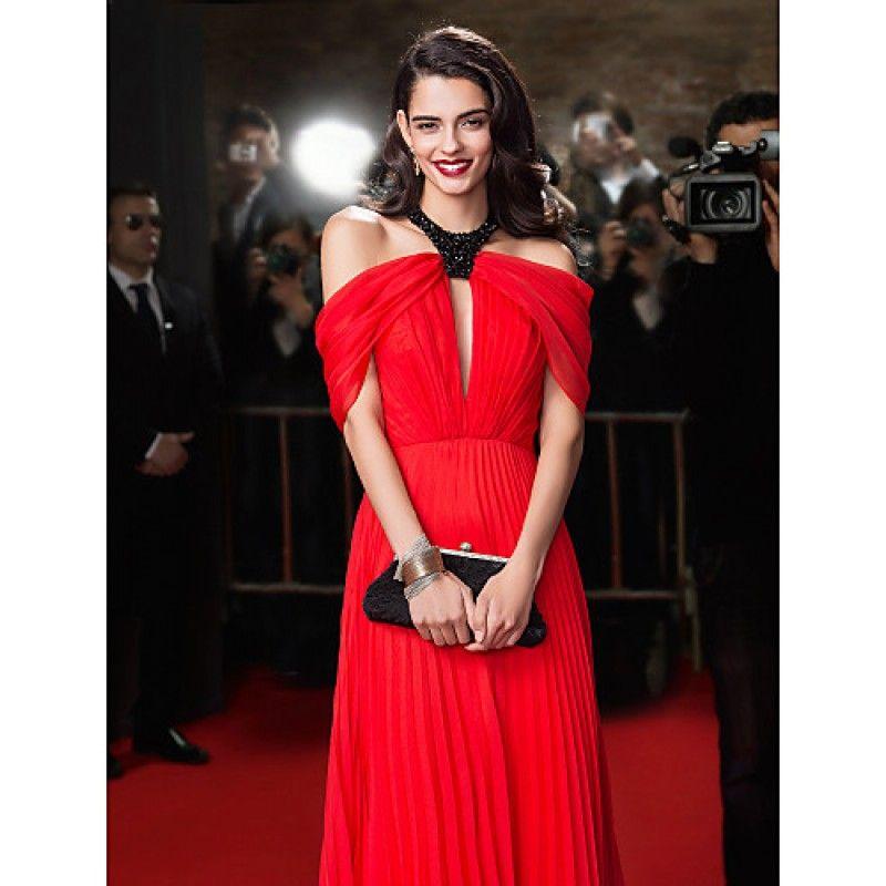 New Zealand Formal Evening Dress A-line Jewel Long Floor