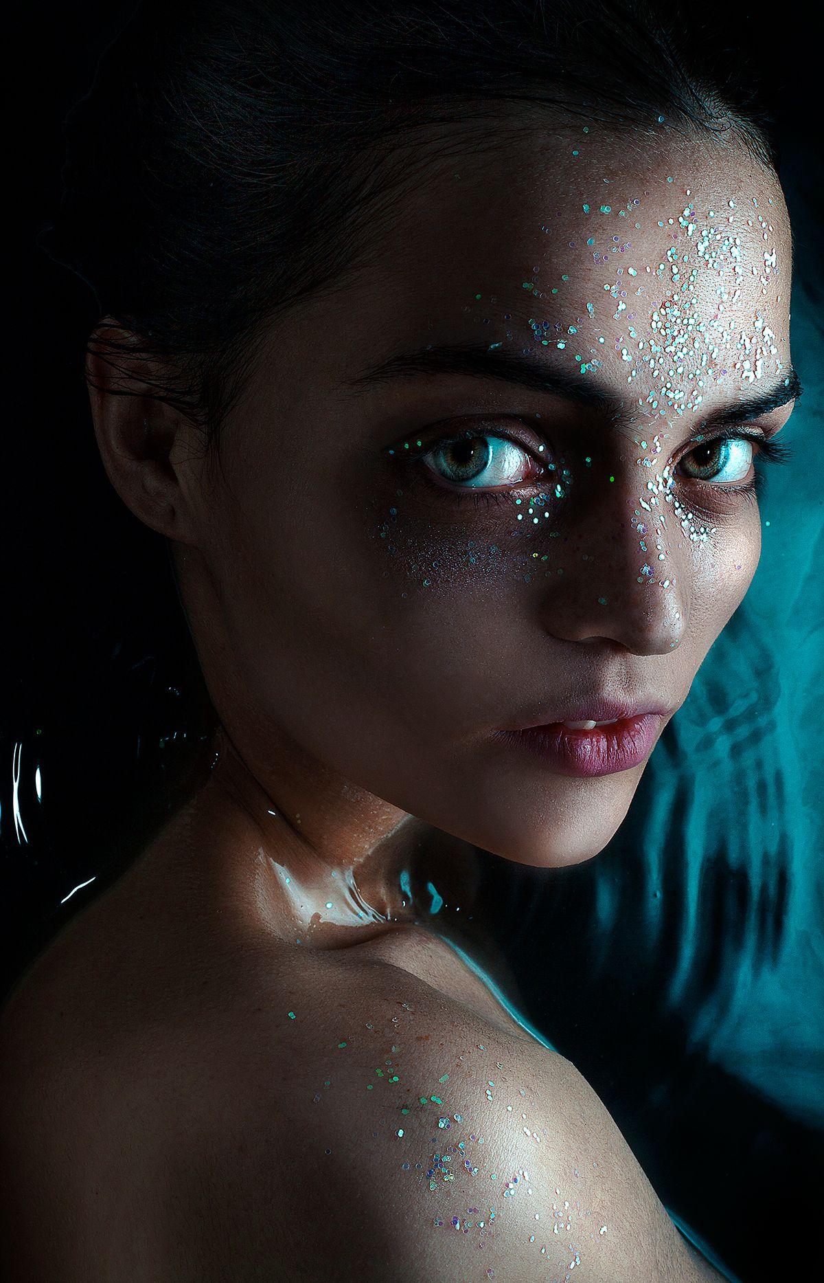 alien on Behance Halloween face makeup, Face makeup, Alien