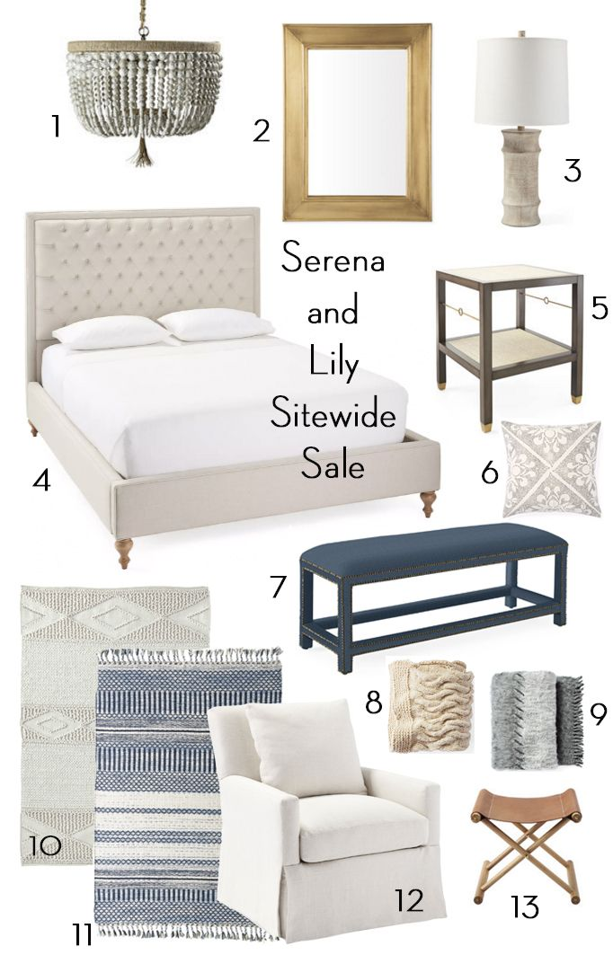 Serena And Lily 20 Off Sitewide Sale Becki Owens Hamptons Style Bedrooms Home Decor Bedroom Bedroom Furniture
