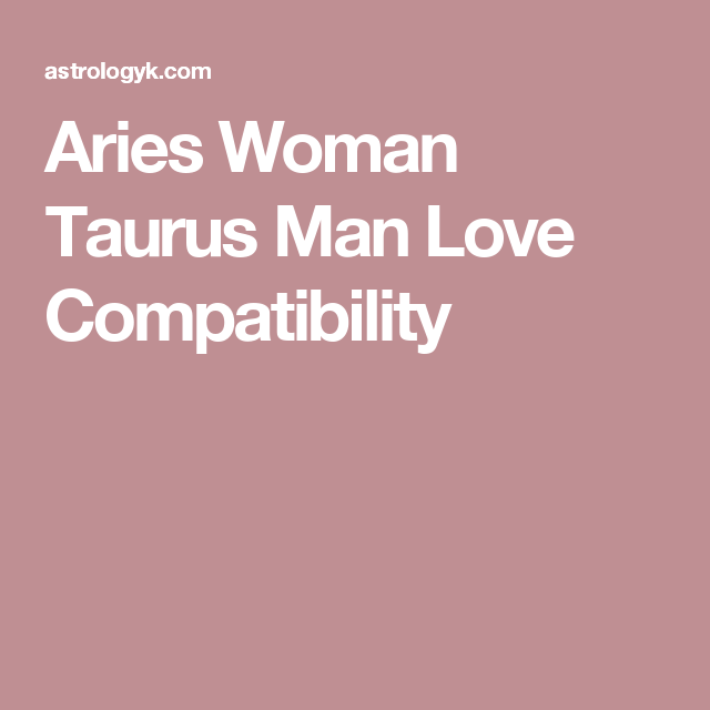 Aries woman and virgo man compatibility