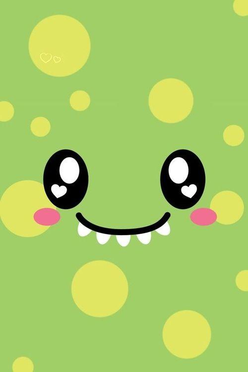 Imagen De Cute Monster And Green Cute Wallpapers Kawaii Wallpaper Cute Monsters